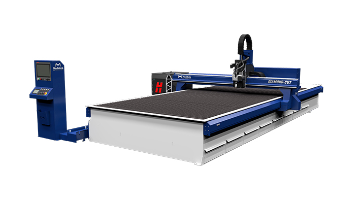 CNC Plasma cutting table - Diamond Cut Machitech