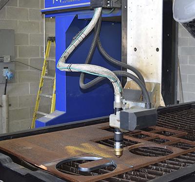 CNC Plasma cutting table - Machitech