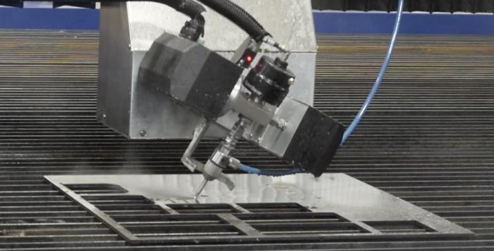 CNC Waterjet Cutting in Aerospace Industry